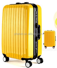 super strong abs+pc frame luggage AL-001 white color