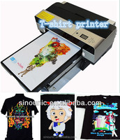 A2 Large Format Flatbed T-Shirt Direct Print on tshirt Printing device