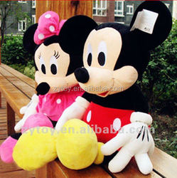 Mascot mickey mouse plush toys Factory ,mickey minnie mouse plush toy