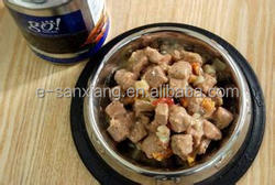 wet pet food wholesale canned corned beef with high protein wet dog food