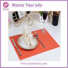 Modern PVC Anti-placemats Waterproof Under Table Mat Dining/Kitchen Washable Vinyl