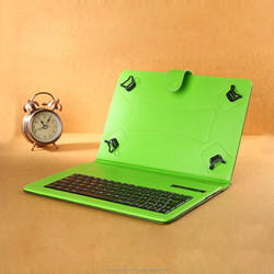 universal folding stand bluetooth keyboard leather case for 7 inch tablet