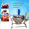 tiltable electric chilli jam cooking kettle with agitator