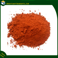 Color powder red iron oxide for pigments fertilizer
