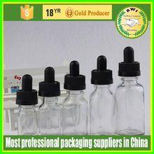 15ml eliquid glass bottle e liquid childproof cap label shrink wrap for e liquid/e juice