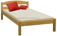 Child single pine solid wood bed livingroom furniture HJB-1102