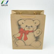 2015 ECO friendly venta caliente de china gold supplier NAVA marca del papel de kraft food bolsa