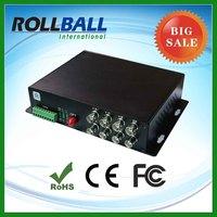 Low cost digital fiber optic cctv video converter