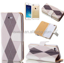 Elegant Leather Magnetic Cover Case For iPhone 5 5S