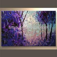 Newest Handmade Decorative Paintings Of Modern Tree