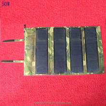 Outdoor waterproof foldable solar panel charge/portable folding solar rechargeable bag