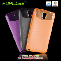 transparent TPU candy case cover for samsung galaxy note3 neo