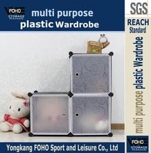 AL0013-3 Modular easy to make pp plastic storage boxes