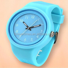 2015 New Design Brand Quartz relax Wrist silicone Watches