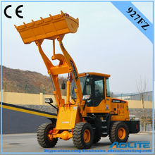 high efficiency ce certification 60kw engine power cheap wheel loader for construction