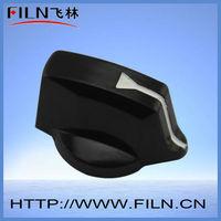 FL5004 black decorative door knobs covers
