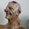 X-MERRY 2015 Hot Sale Zombie Mask 100 % Rubber Latex Green Product, Halloween Mask