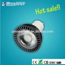 gu zhen CE/ROHS/LVD spot led light 7w wholesale price led lighting