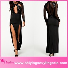 2015 Latest Style wholesale fashion design sexy nighty dress picture