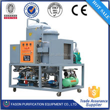 Magnetic field purification system recycling used engine oil/waste oil recycling plant