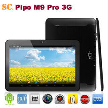 "10.1"" Pipo M9 Pro 3G RK3188 Quad Core 4.2 Android Tablet PC Retina 1920*1200 Dual Camera Built-in 3G/GPS/BT/HDMI/OTG 2G 32G"