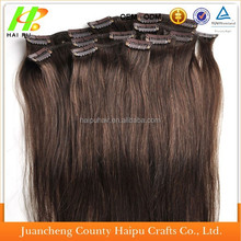 100% Human Remy Hair,Clip in Hair Extension,Brazilian Clip In Hair Extension