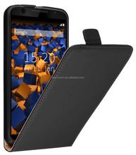 Alibaba High Quality Slim Leather Cell Phone Case for Motorola Nexus 6