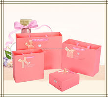 Promotion colorful special paper pakage hand paper bag