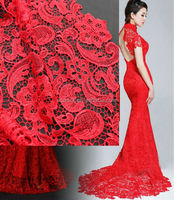 Top Sell Polyester African French Dress Making Lace Fabric In Stock