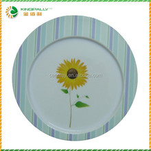 Wholesale durable used restaurant serving plates/unique shape dinner plate