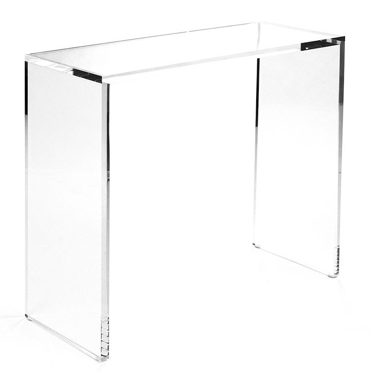 Gentil ... Acrylic Console Table 3 ...