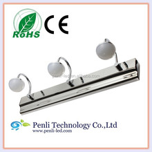9W 18 LED 5630 SMD White stainless steel bathroom LED lighting lamp