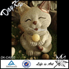Indoor decoration stone cat statue for sale