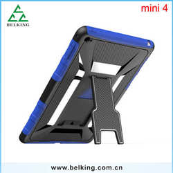 Wholesale Top Quality Brand Tablet 2In1 Hybrid Material Plastic PC Case Tab For iPad Mini 4/ For iPad Pro
