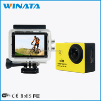 4K Sports Camera 2.0 Inch LCD Screen With WiFi Mini DV 1080P 60FPS Outdoor Ultra HD Mini Action Camera 4K