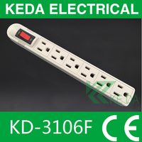 6 outlet home/office surge protector power strip