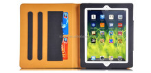 For ipad air 1/2 Smart Leather Wallet Flip Stand Case Cover with Card Slot