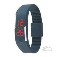 Colorful Sports Silicone Digital LED Bracelet best gift for teacher's day