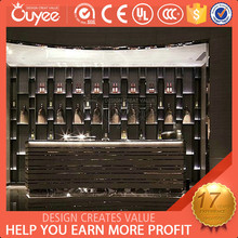 Hot Sales Luxury antique bar counter / antique counter bar / furniture bar counter for Wine