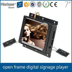 """FlintStone vending machine 7"""" lcd open frame"""
