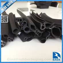 Customize rubber automobiles parts/car door bulb seal strip
