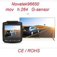 Novatek96650 MOV H.264 1080p hd car camera radar detector, car radar detector, anti speed radar detector