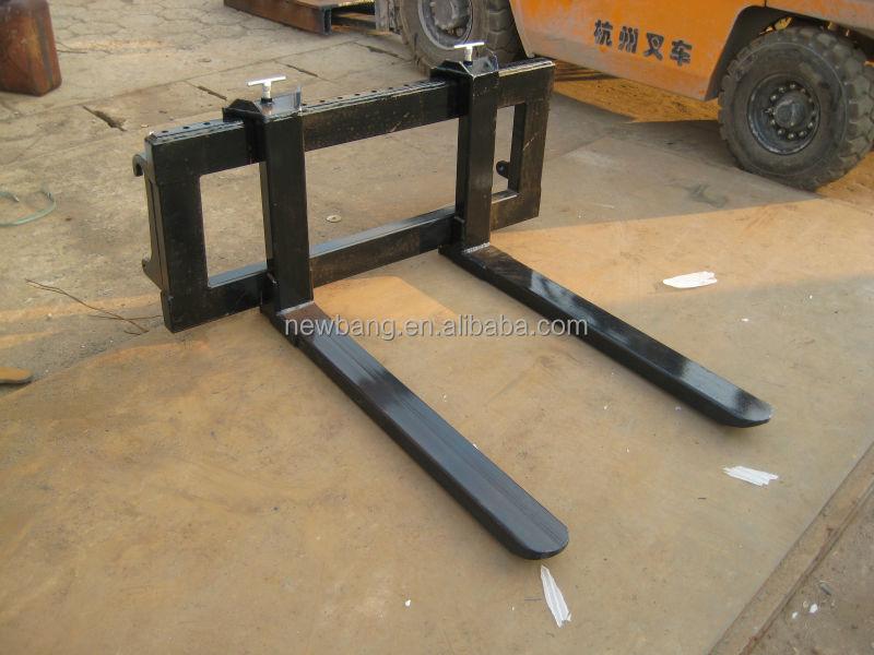 Tractor Adjustable Forks : Pallet fork rear tractor forklifts mounted buy