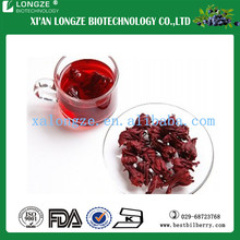 100% Natural Hibiscus Flower Extract Hibiscus sabdariffa Roselle Extract Powder