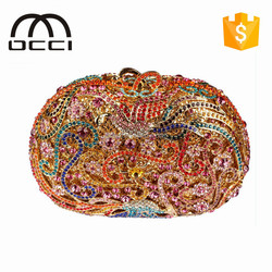 china manufacturer wholesale alibaba fashion women crystal evening bags TY842
