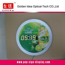 New design led clock digital