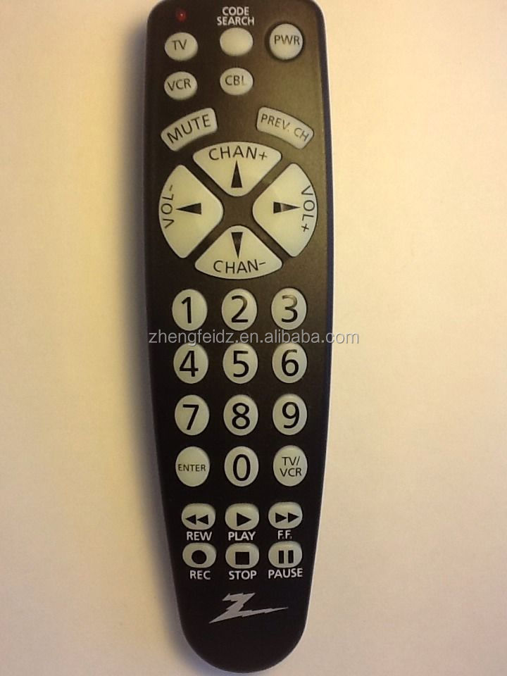 universal remote control zenith cl032 3 function universal remote rh alibaba com Old Zenith Remote Codes Old Zenith Remote Codes