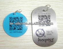 Factory price Cheap Id pet tags Custom logo pet tags