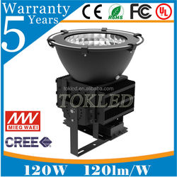 SAA,CE,RoHs,UL Approved IP65 meanwell driver 120W led high bay