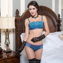 OEM service Factory direct selling good quality fancy push up brastylish hot fancy bra and panty set